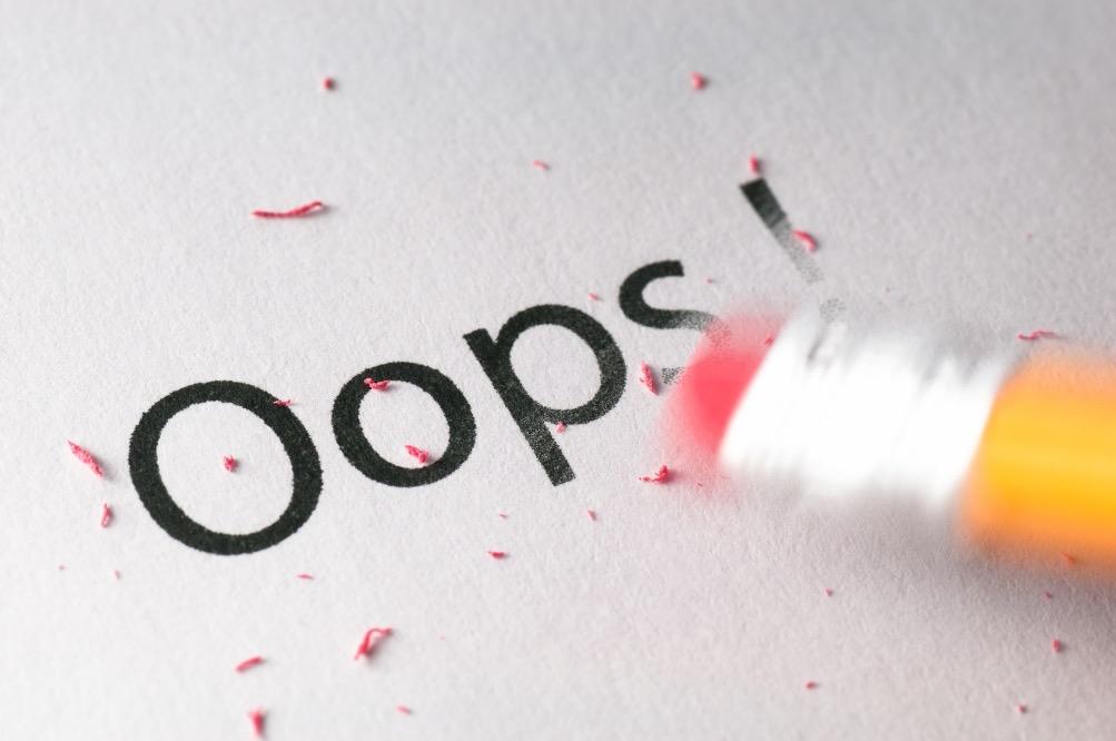 Os 5 erros mais comuns de um vendedor