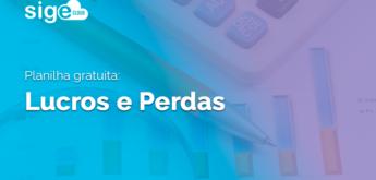 Lucros e Perdas: modelo de planilha Excel para cálculo