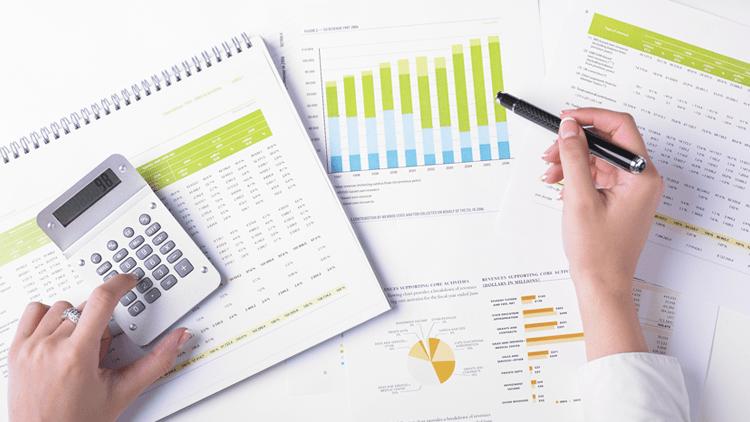 Relatórios Financeiros: indicadores dos resultados do negócio