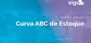 Curva ABC Estoque: planilha Excel para download