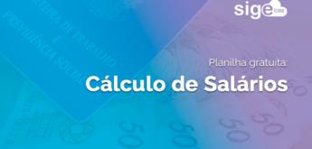 Cálculo de Salário: planilha em Excel para download