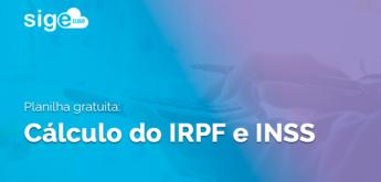 Cálculo do IRPF e INSS: planilha Excel para download