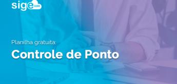 Controle de Ponto: planilha de cálculo para download