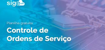 Controle de Ordens de Serviço: planilha para download
