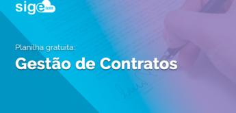 Gestão de Contratos: planilha de controle para download