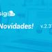 NOVIDADES DA VERSÃO 2.37 DO SIGE CLOUD