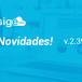 NOVIDADES DA VERSÃO 2.39 DO SIGE CLOUD