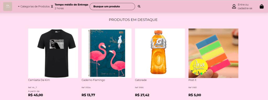 Loja Virtual - ecommerce